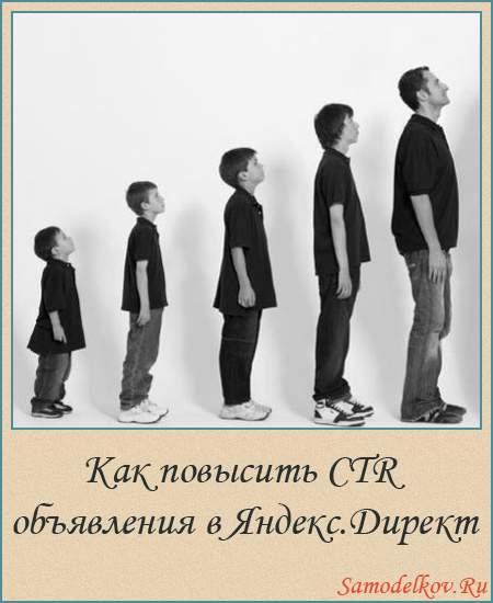 Как повысить CTR объявления в Яндекс.Директ